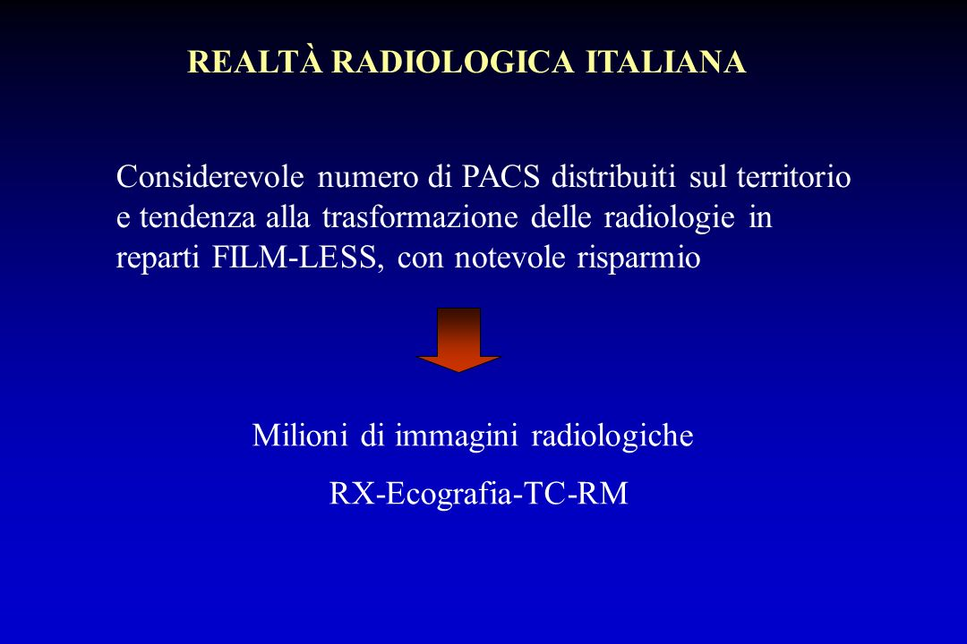 REALTÀ RADIOLOGICA ITALIANA