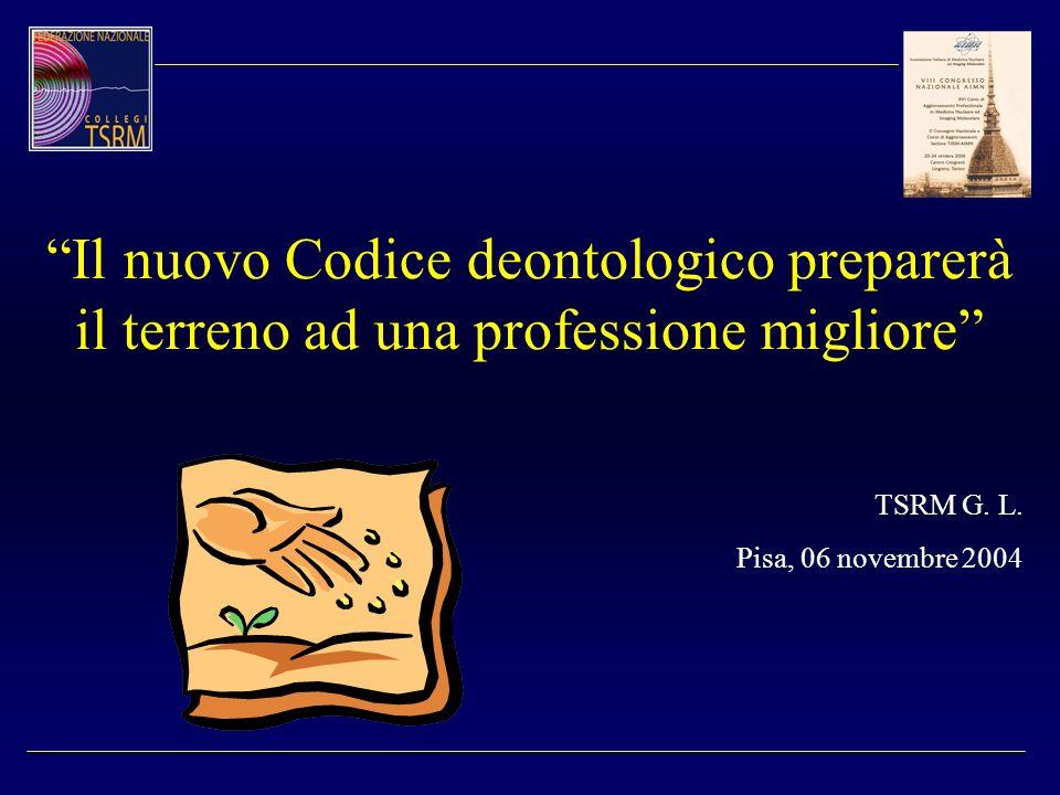 Il nuovo Codice deontologico preparerà il terreno ad una professione migliore