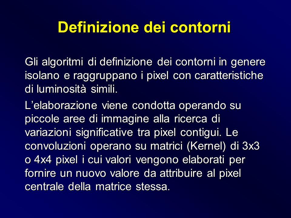 Definizione dei contorni