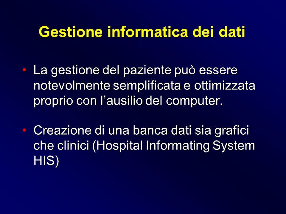 Gestione informatica dei dati