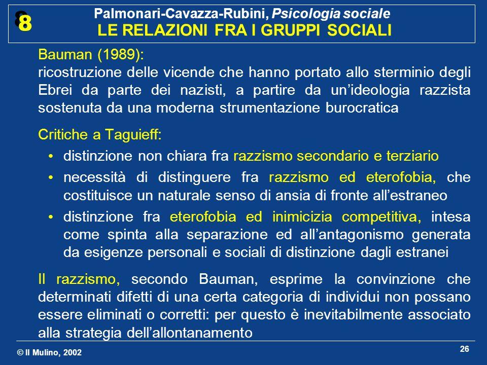 Bauman (1989):