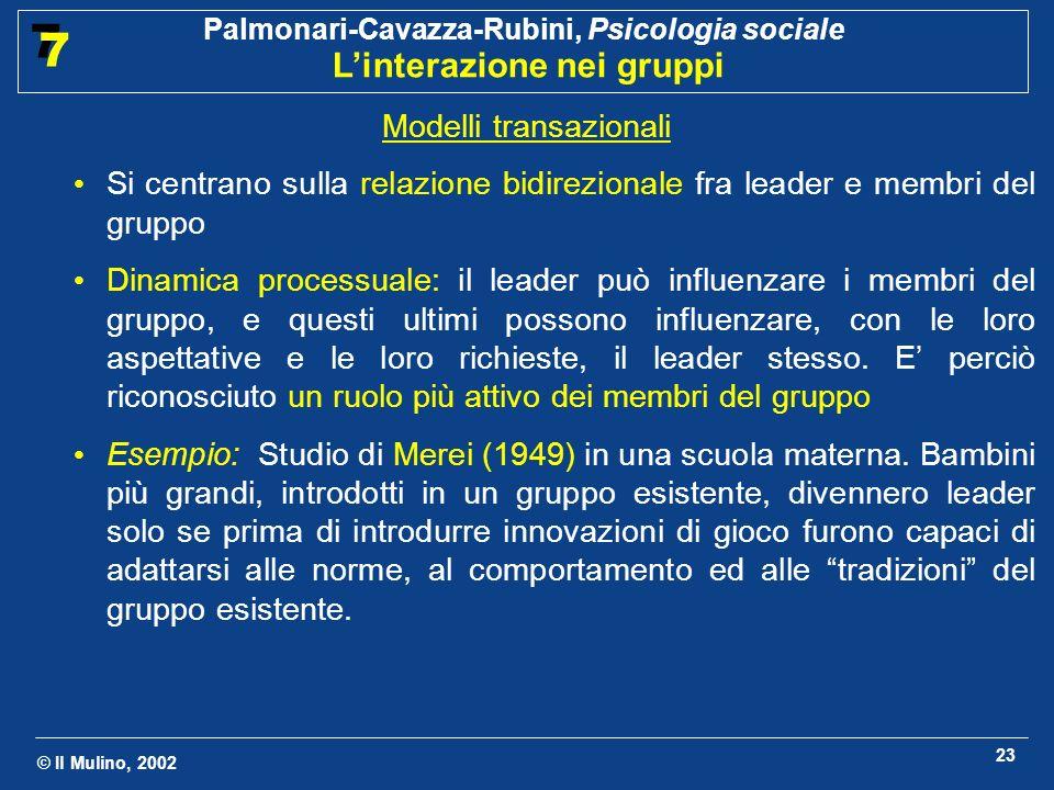 Modelli transazionali