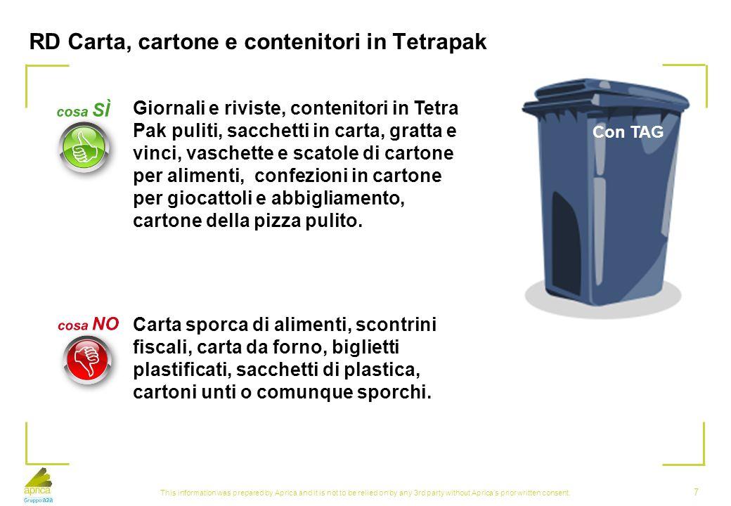RD Carta, cartone e contenitori in Tetrapak