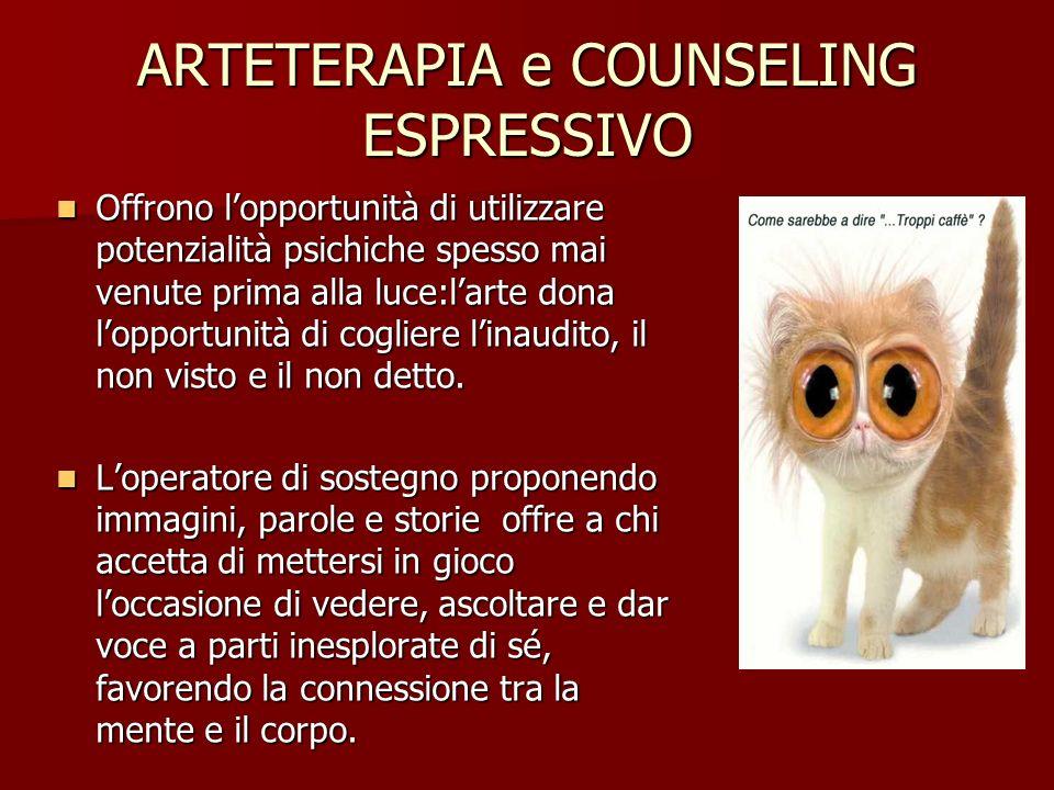 ARTETERAPIA e COUNSELING ESPRESSIVO