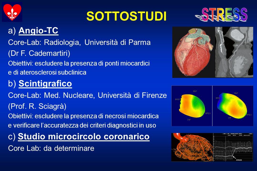 SOTTOSTUDI a) Angio-TC b) Scintigrafico