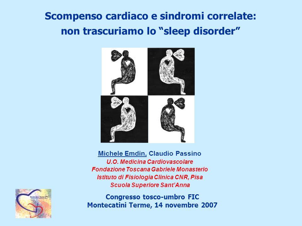 Scompenso cardiaco e sindromi correlate: non trascuriamo lo sleep disorder
