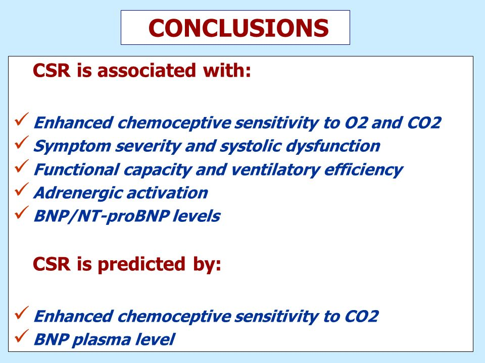 CONCLUSIONS CSR is predicted by: CSR is associated with:
