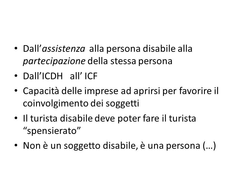 Il turista disabile deve poter fare il turista spensierato