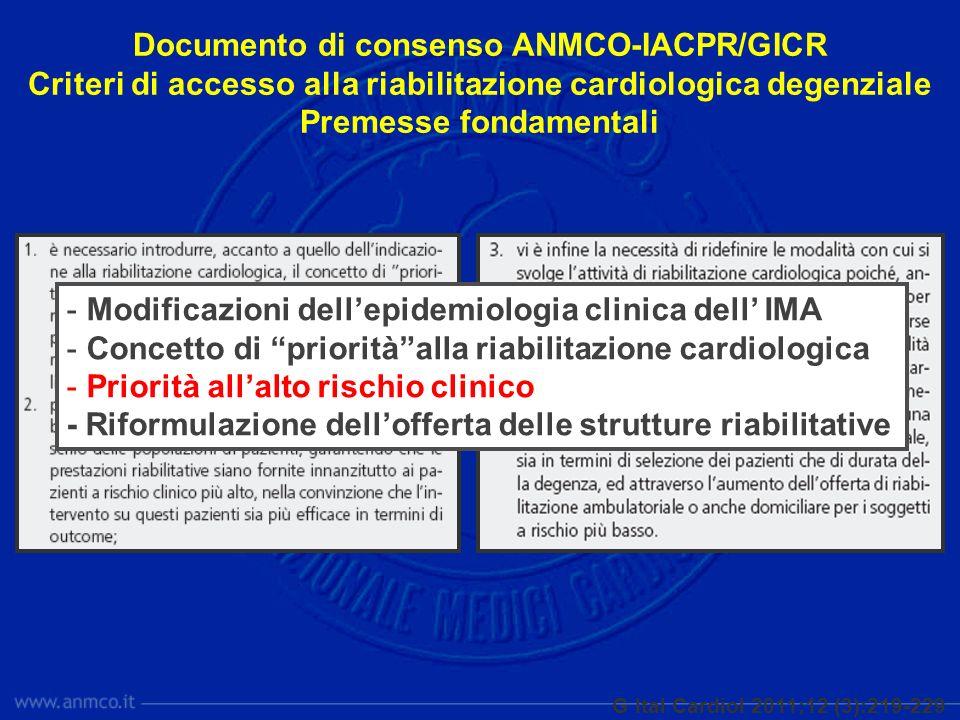 Documento di consenso ANMCO-IACPR/GICR