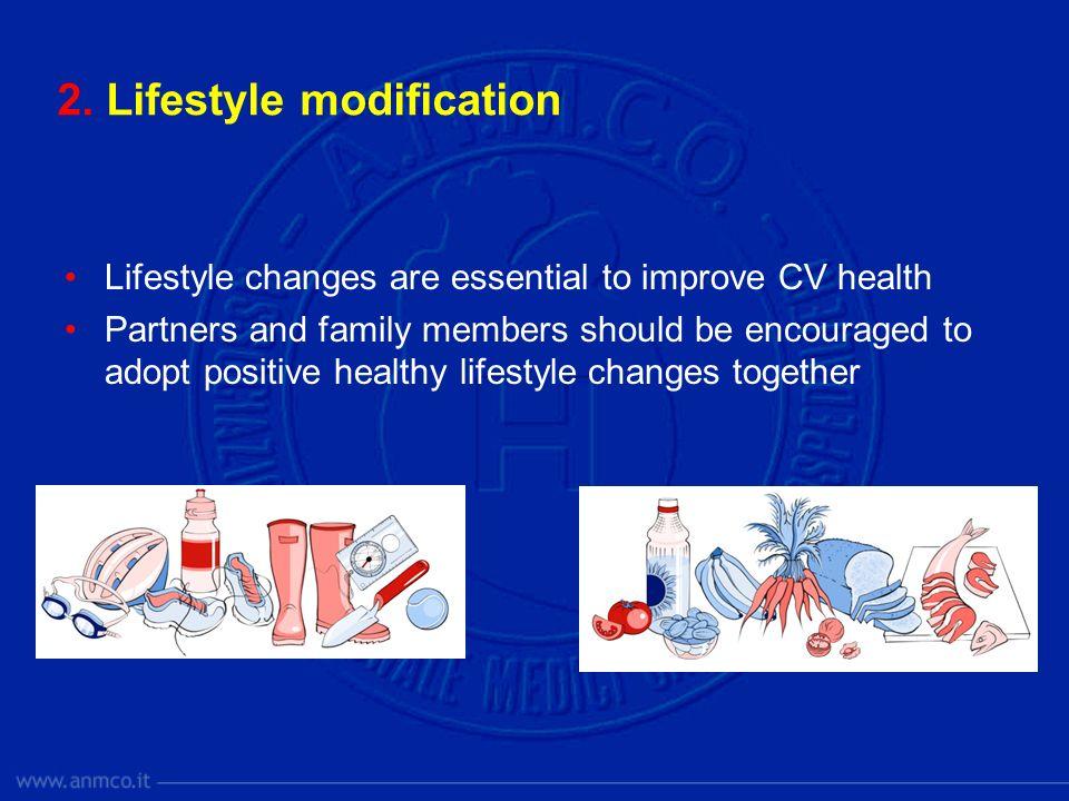 2. Lifestyle modification