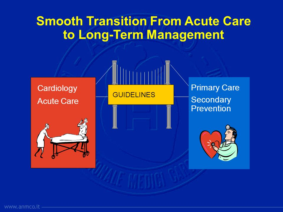 Smooth Transition From Acute Care to Long-Term Management