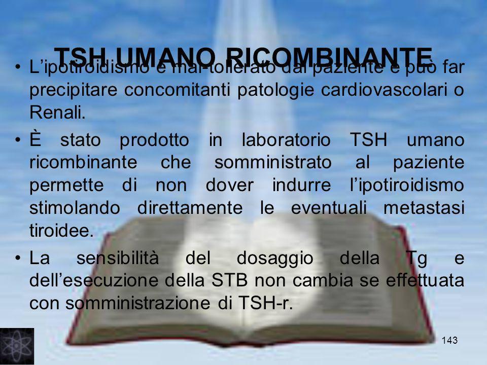 TSH UMANO RICOMBINANTE