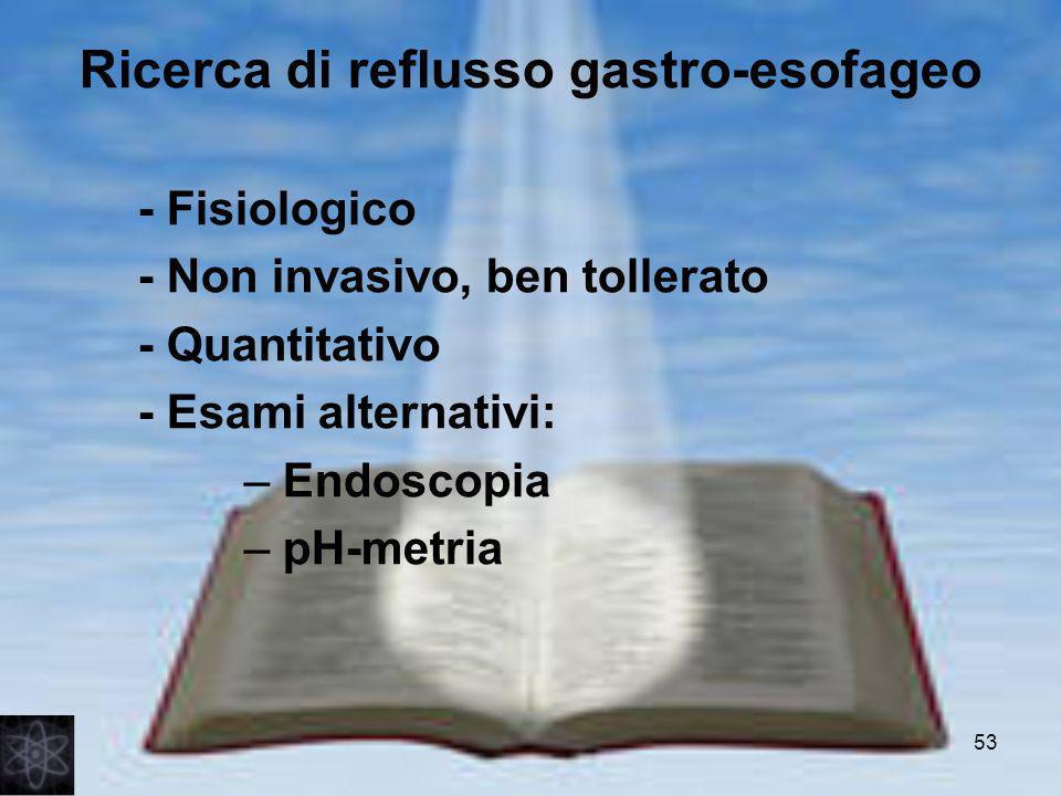 Ricerca di reflusso gastro-esofageo