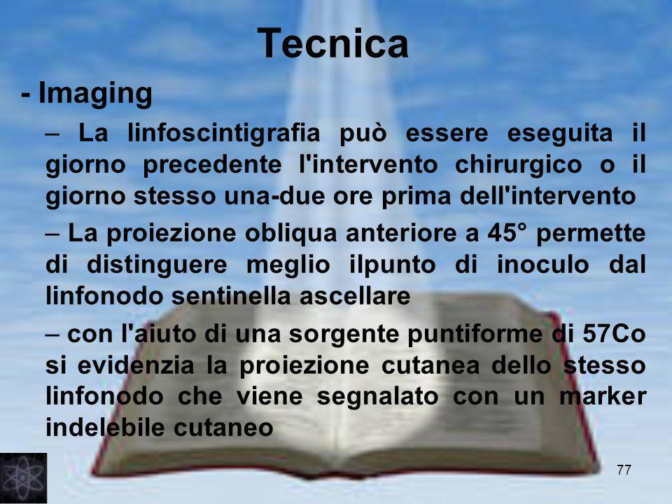 Tecnica - Imaging.