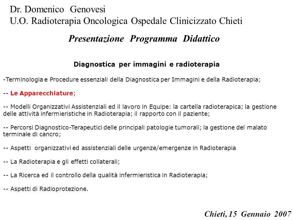 Diagnostica per immagini e radioterapia