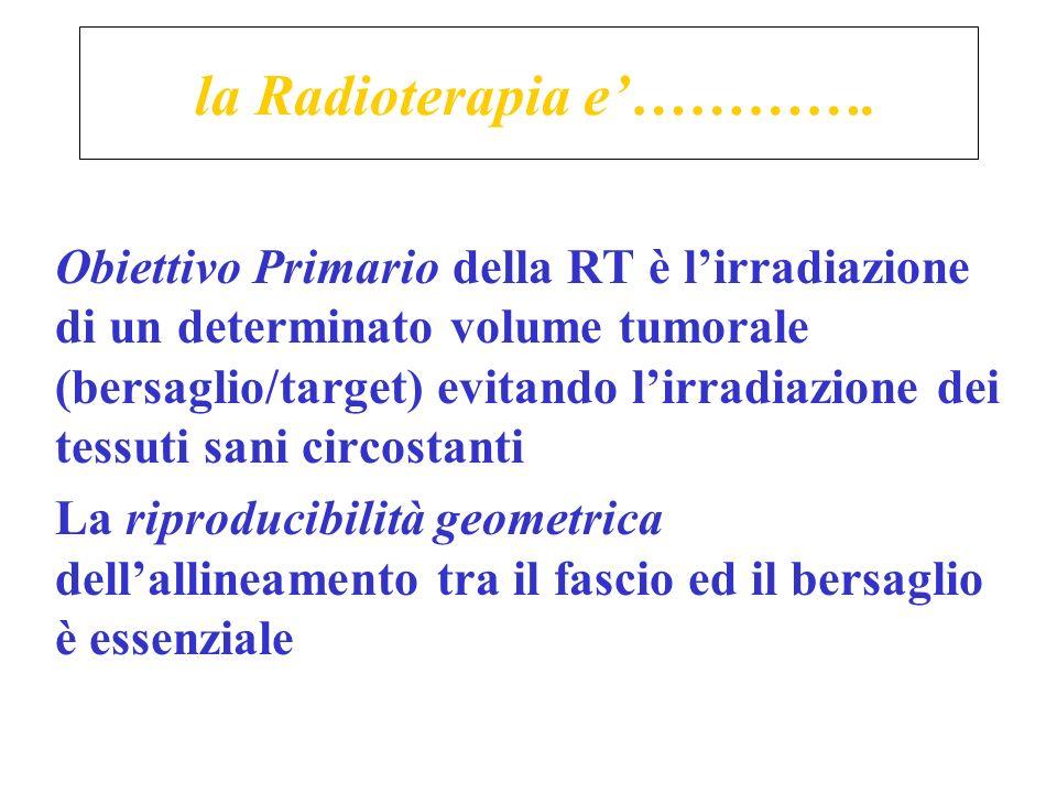 la Radioterapia e'………….