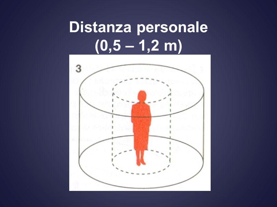 Distanza personale (0,5 – 1,2 m)