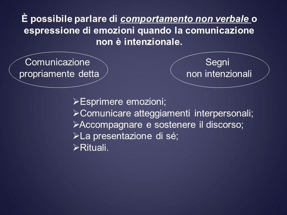Comunicare atteggiamenti interpersonali;