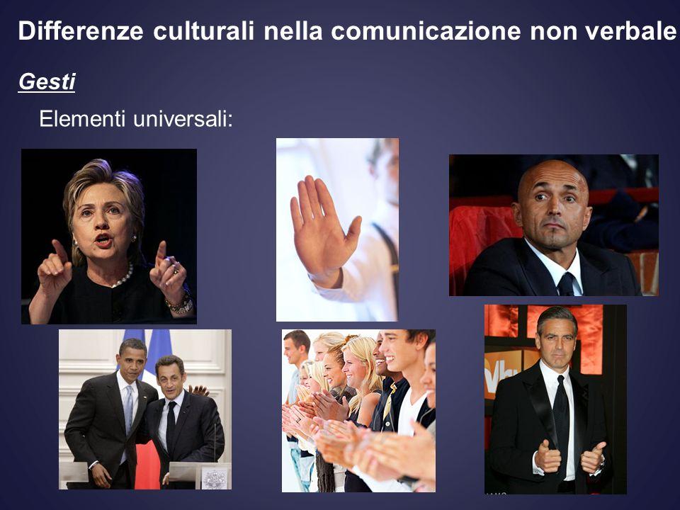 Differenze culturali nella comunicazione non verbale