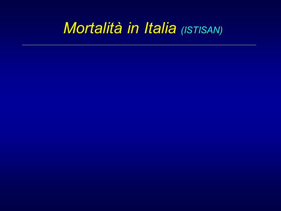 Mortalità in Italia (ISTISAN)