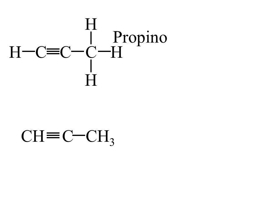 H Propino H C C C H H CH C CH3