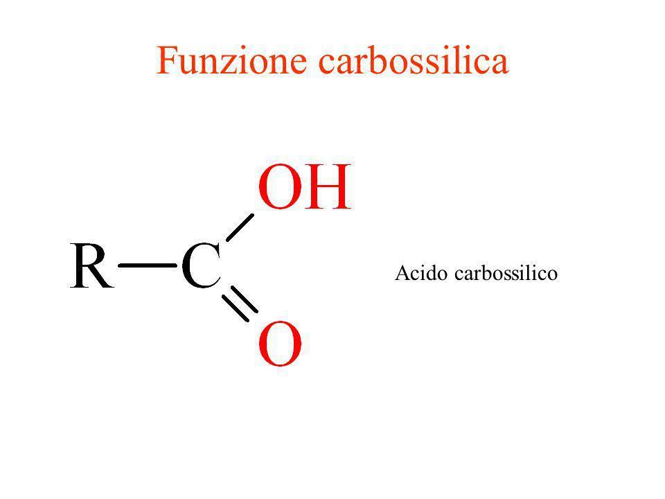 Funzione carbossilica