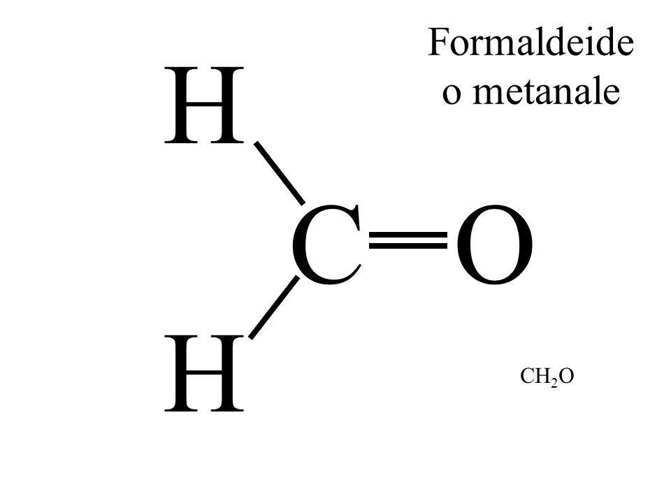 Formaldeide o metanale