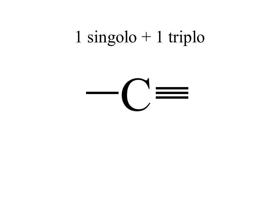 1 singolo + 1 triplo C