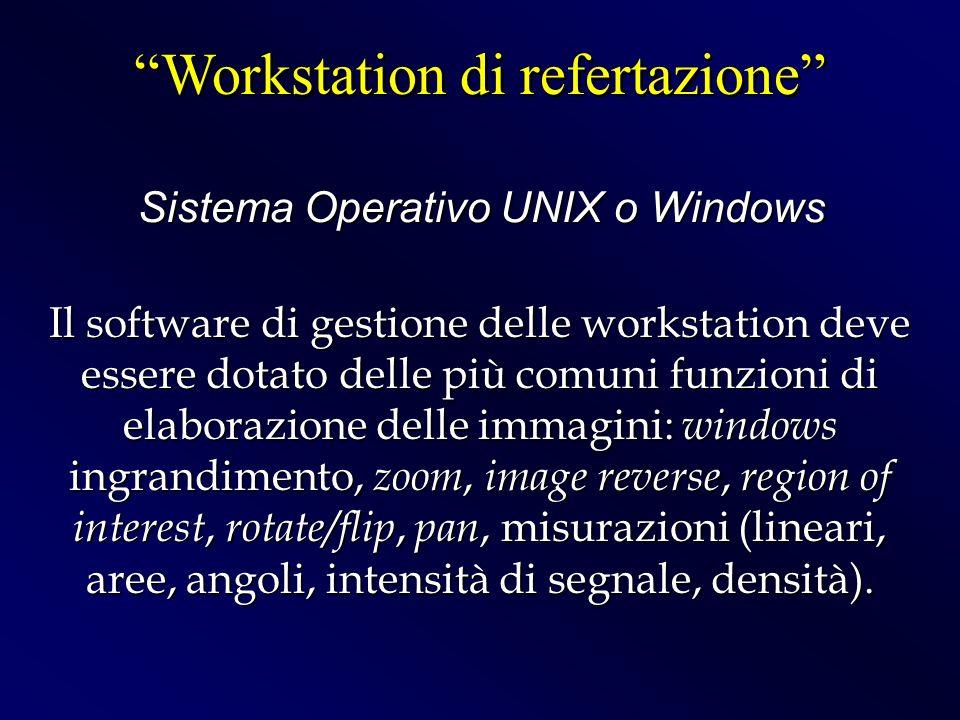 Workstation di refertazione