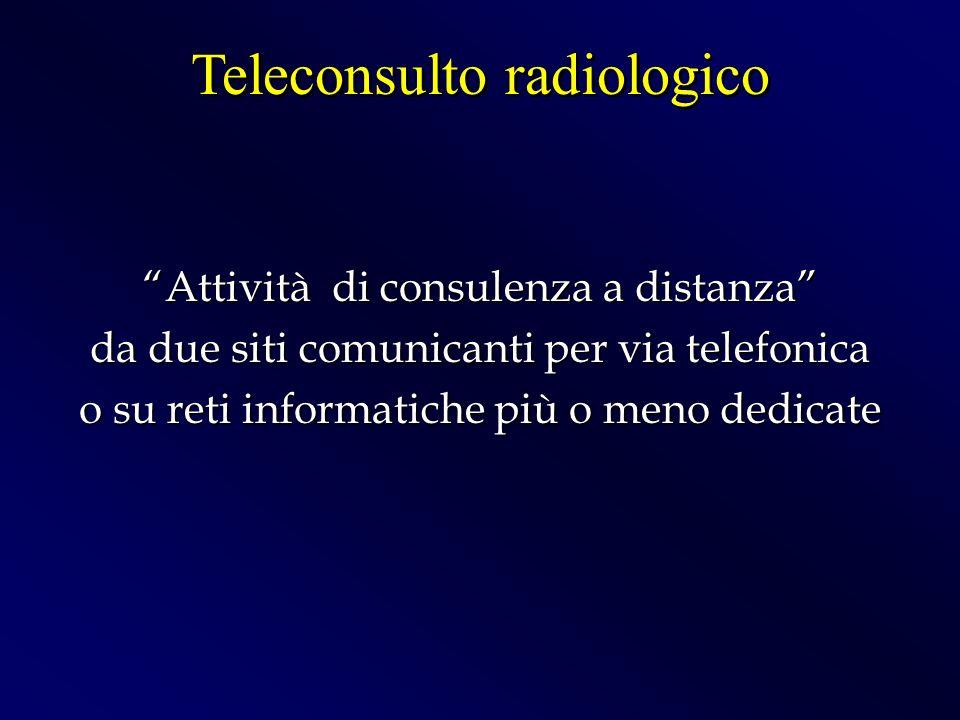 Teleconsulto radiologico