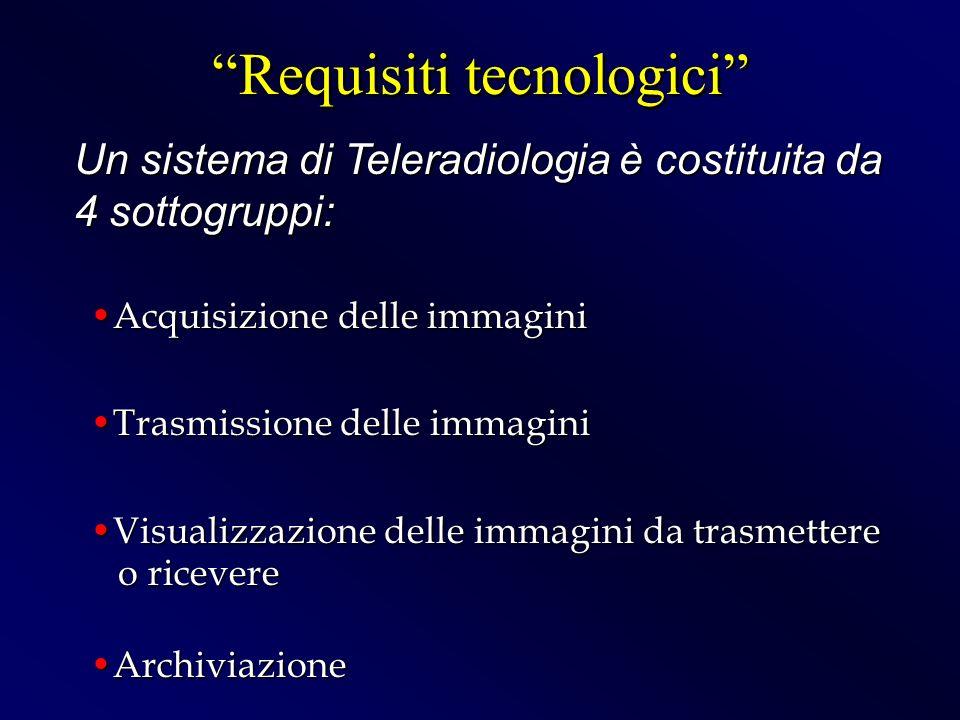 Requisiti tecnologici