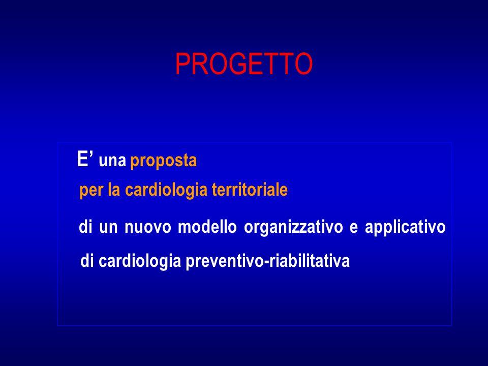 PROGETTO E' una proposta per la cardiologia territoriale