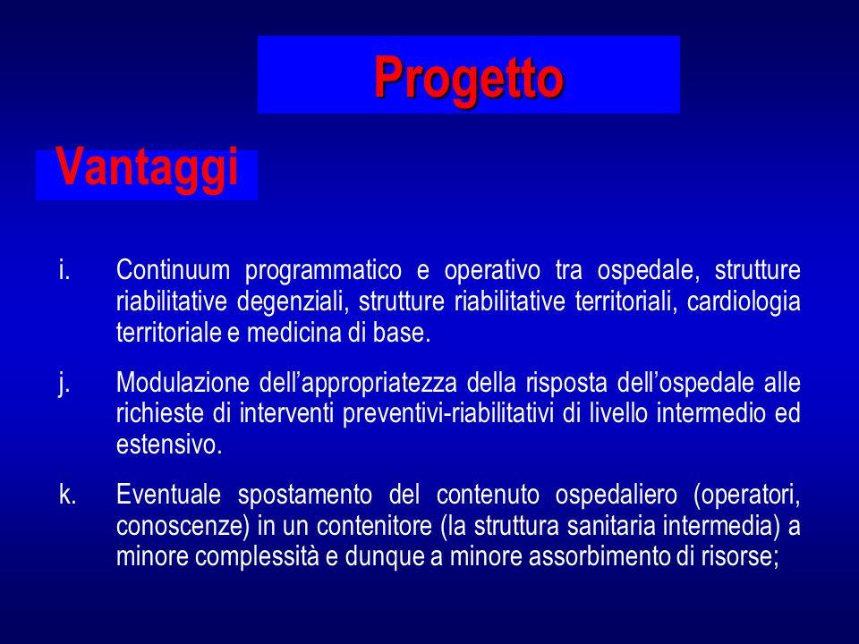 Progetto Vantaggi.