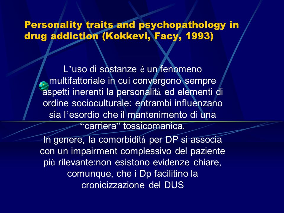 Secondo le categorie diagnostiche i tassi variano:
