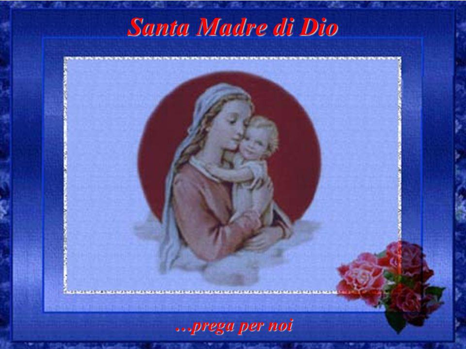 Santa Madre di Dio …prega per noi