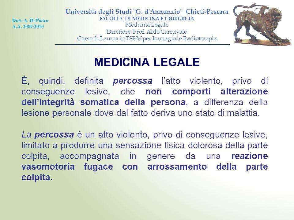 Università degli Studi G. d Annunzio Chieti-Pescara