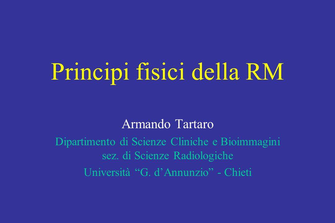 Principi fisici della RM