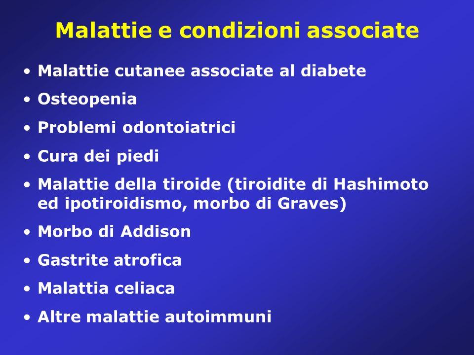Malattie e condizioni associate