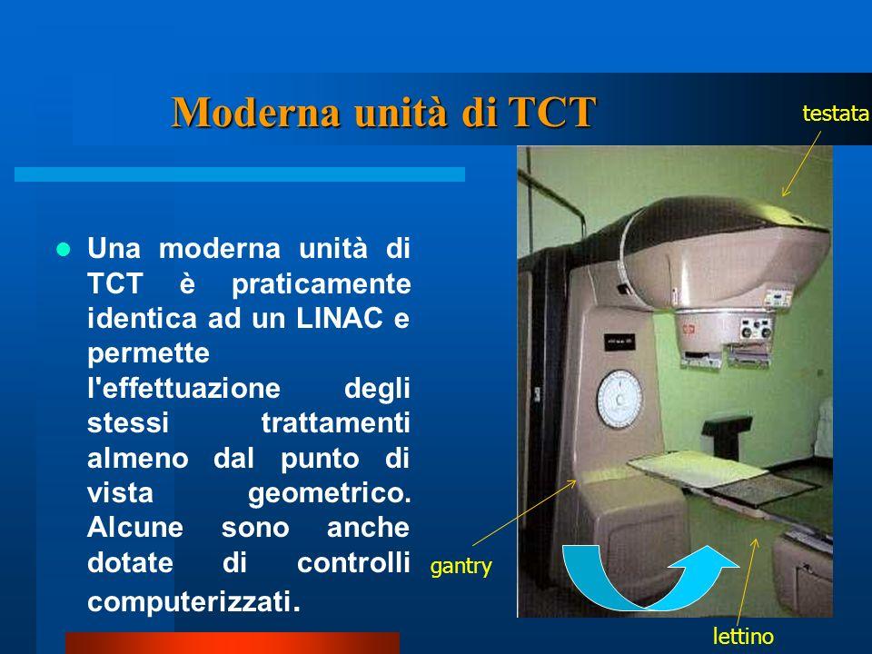 Moderna unità di TCT testata.