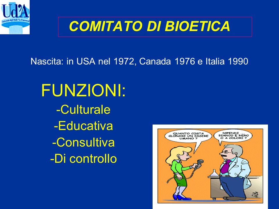 Nascita: in USA nel 1972, Canada 1976 e Italia 1990