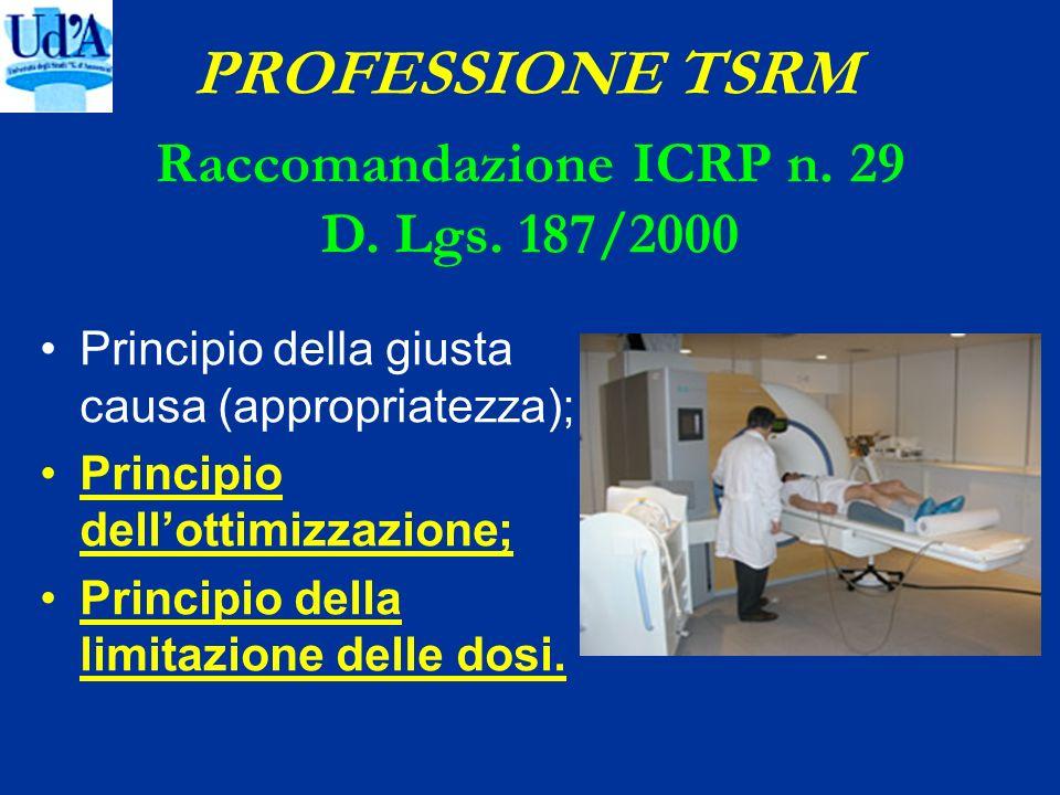 Raccomandazione ICRP n. 29