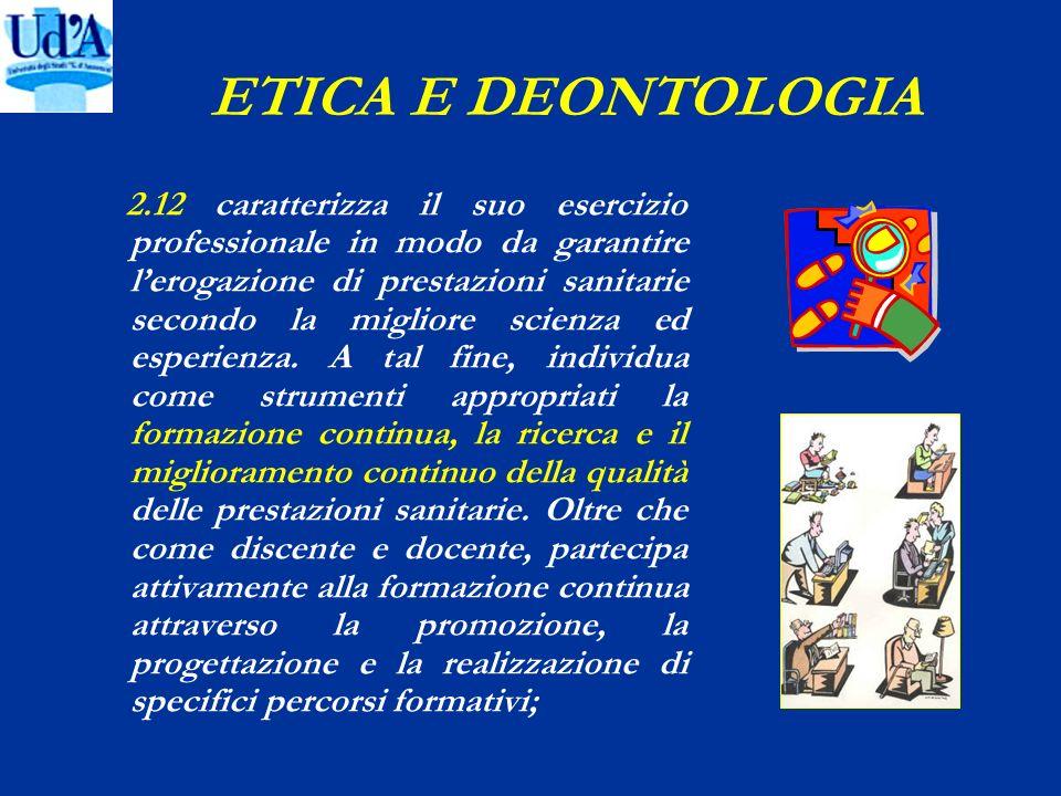 ETICA E DEONTOLOGIA