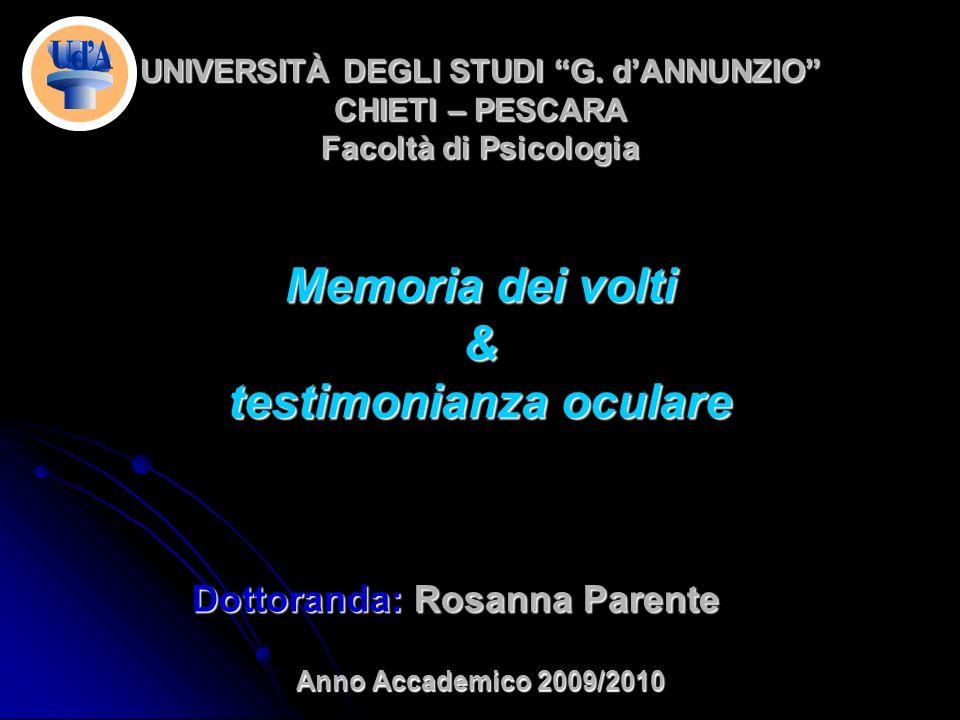 UNIVERSITÀ DEGLI STUDI G