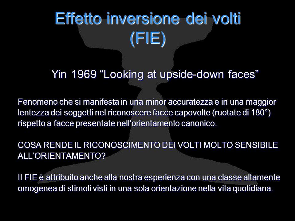 Effetto inversione dei volti (FIE)