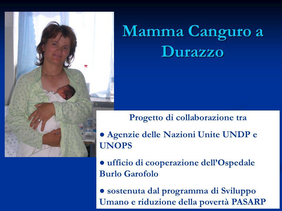 Mamma Canguro a Durazzo