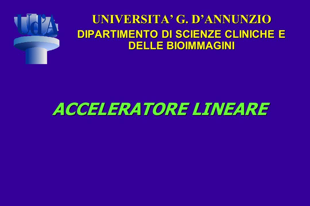 ACCELERATORE LINEARE UNIVERSITA' G. D'ANNUNZIO