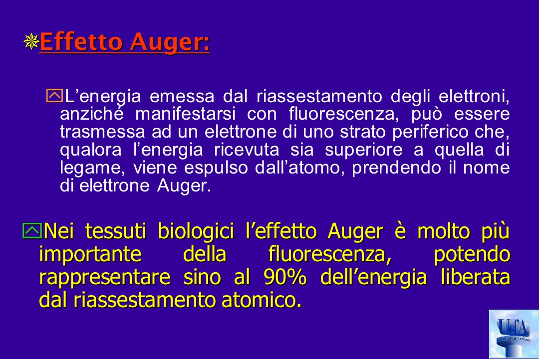 Effetto Auger: