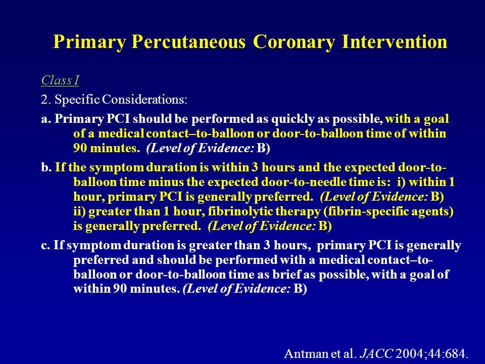 Primary Percutaneous Coronary Intervention
