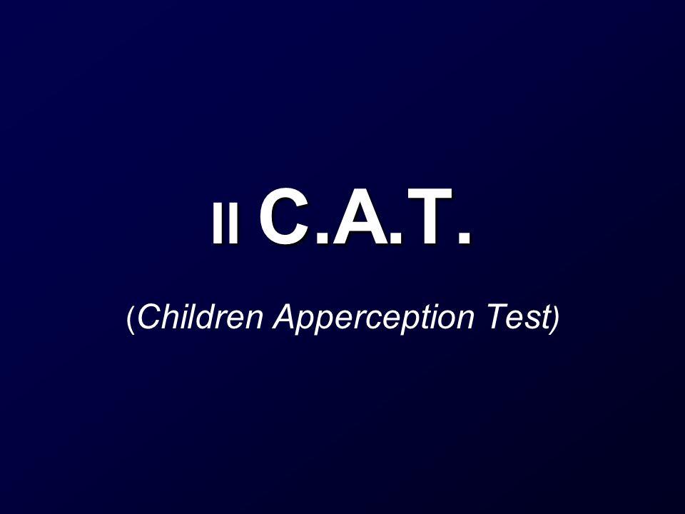 (Children Apperception Test)