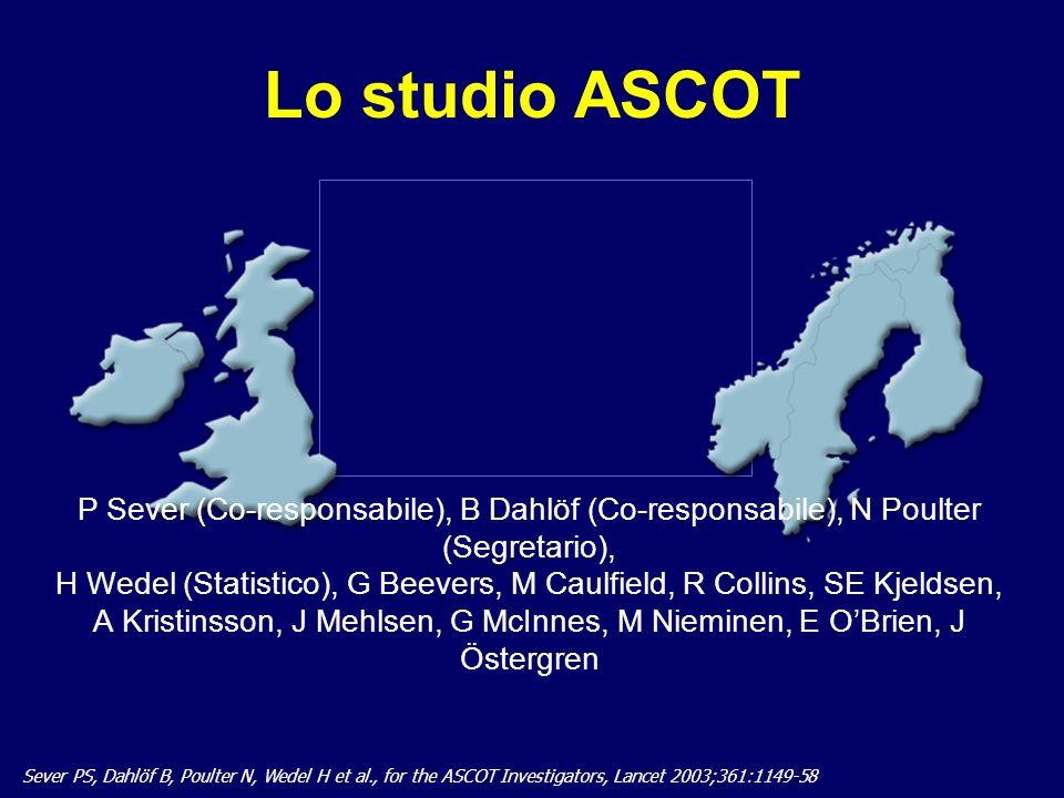 A nome dei Ricercatori dello Studio ASCOT